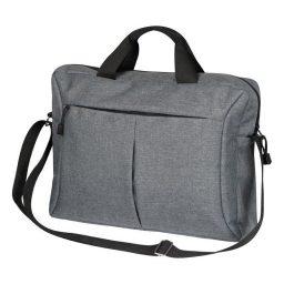 Tsanta gia laptop polyestera gkri 39x9x29cm