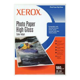 Phwtographiko charti high gloss A4 - 180gr - 20 phylla Xerox