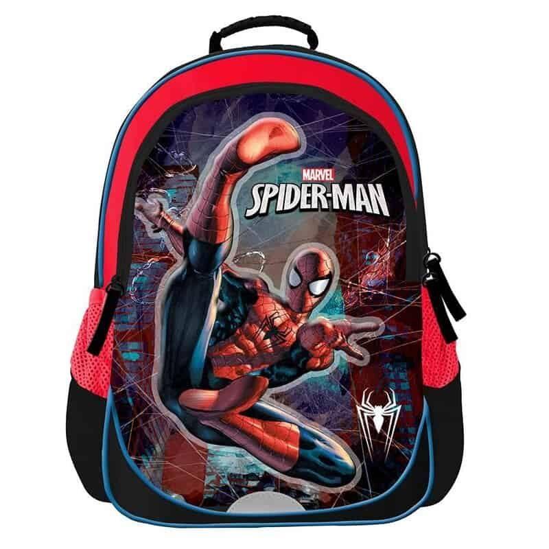 Tsanta plaths dhmotikoy Spiderman me 2 thikes 37x28x15,5cm Bagtrotter